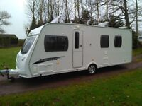 2009 Luna Lexon 4 berth with a fixed Island bed 2009 with motor mover