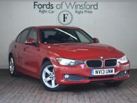 BMW 3 SERIES 318D SE 4DR (red) 2013