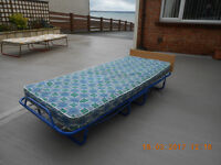 2 Camping beds and mattresses for sale. Both in good condition.