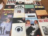 Job lot 1980's Vinylsingles