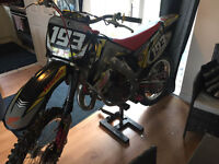 HONDA CR125/144 MXW RACING 2003 VERY WELL MAINTAINED, PRIME EXAMPLE