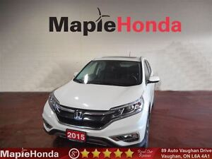 2015 Honda CR-V Touring| Loaded, Navi, Leather, All-Wheel Drive!