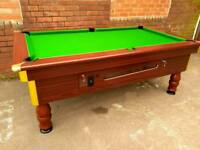 Commercial quality 7x4 slate bed pool table. Brand new recover, Free Local Delivery