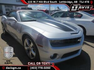 Used 2011 Chevrolet Camaro 2SS Convertible-Heated Leather, 400HP