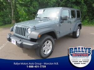 2014 Jeep Wrangler Sport! 4x4! Alloy! ONLY 20K! Trade-In!