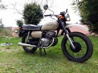 Honda CD200 CD Benly 1980 MOT Oct 2018