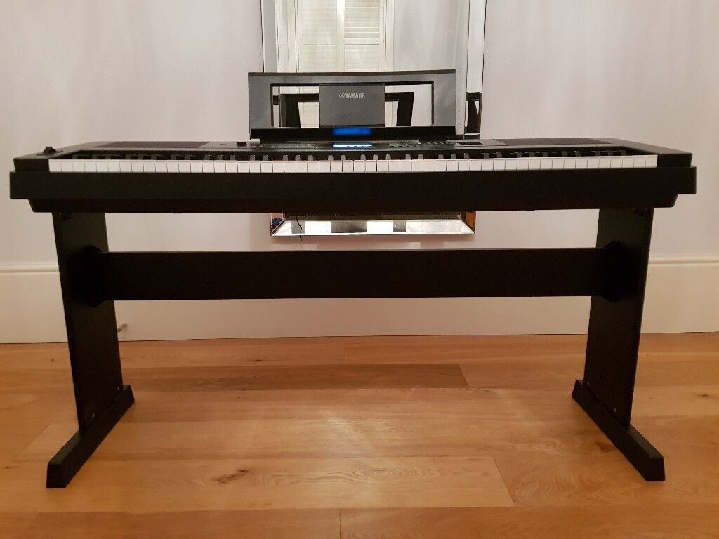 yamaha dgx 660b portable grand piano with stand as new condition dgx660 dgx 660 in tonbridge. Black Bedroom Furniture Sets. Home Design Ideas