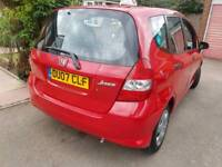 IMMACULATE 10 MAIN DEALER STAMPS 1 OWNER MOT FEB 2019 5DOORS CHEAPEST 2007JAZZ BARGAIN QUICK SALE