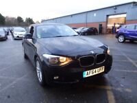 BMW 1 SERIES 116d EfficientDynamics 5dr (black) 2014