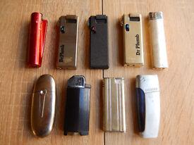 9 Assorted Lighters