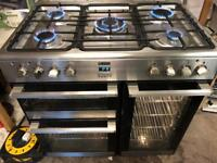 Lamona range gas cooker and electric ovens 90cm