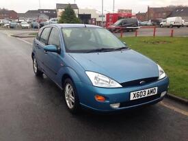 FORD FOCUS 1.6 Zetec 5dr Auto (blue) 2001