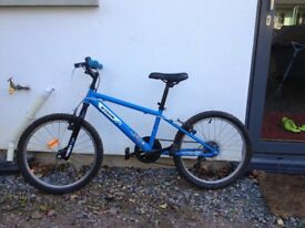 8-10 year Old Boys BTWIN Moutain Bike in Good Condition