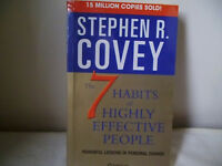 STEPHEN R. COVEY 'THE 7 HABITS OF HIGHLY EFFECTIVE PEOPLE'