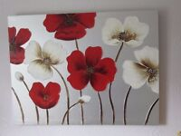 RED POPPY PICTURE FOR SALE.