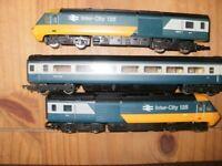 Hornby intercity 125 train set