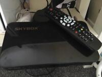 Skybox f5 freesat freeview box. HD