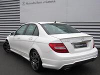 Mercedes-Benz C Class C220 CDI BLUEEFFICIENCY AMG SPORT PLUS (white) 2013-09-30