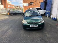 Toyota Yaris 1.3 petrol automatic with 12 months MOT engine gearbox excellent