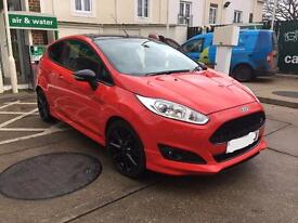 Ford Fiesta Red Edition Zetec S Sport Ecoboost 64 plate 2014, turbo engine, low miles