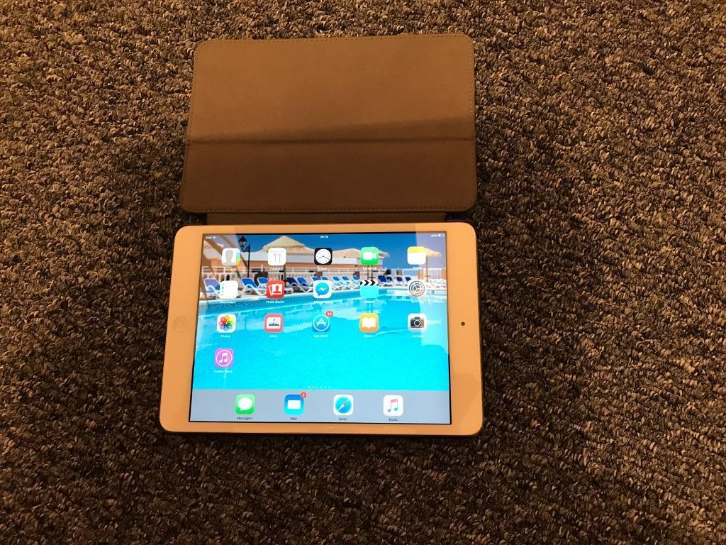 Now sold iPad mini - mint condition (silver)