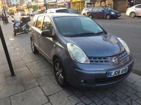 Nissan Note Acenta Mpv (multi-Purpose Vehicle) PETROL AUTOMATIC 2008