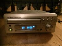 DENON CD Receiver UD-M30 top of the range CD Radio Player 4 Quality wall mounted speakers