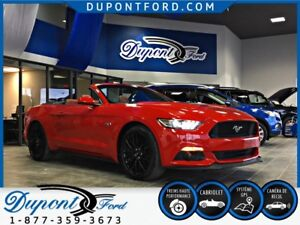 2017 FORD MUSTANG CONVERTIBLE GT PREMIUM PDSF NEUF 61,548 TAUX A