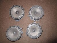 Audi A4 Door Speakers