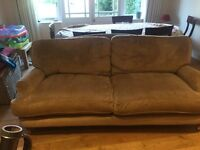 Laura ashley large 2 seater sofa 2 years old