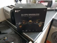 Hubsan x4 brushless drone