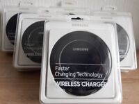 OFFICIAL SAMSUNG BLACK QI WIRELESS CHARGING STAND FAST CHARGER WITH STAND