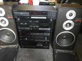 Pioneer 5 pieces Music system