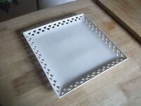 White Plate - Square