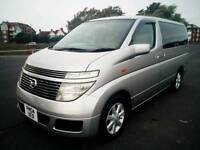 2004 Nissan Elgrand Camper Van 2 berth full side conversion