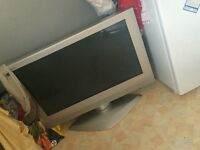 Big silver Panasonic tv flat screen