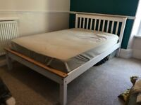 4ft Snuggle bed frame and Foam Matress (three quarter size)