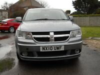 DODGE JOURNEY SXT CRD TUBO DIESEL AUTOMATIC 2010 1968cc 7 SEATER MPV