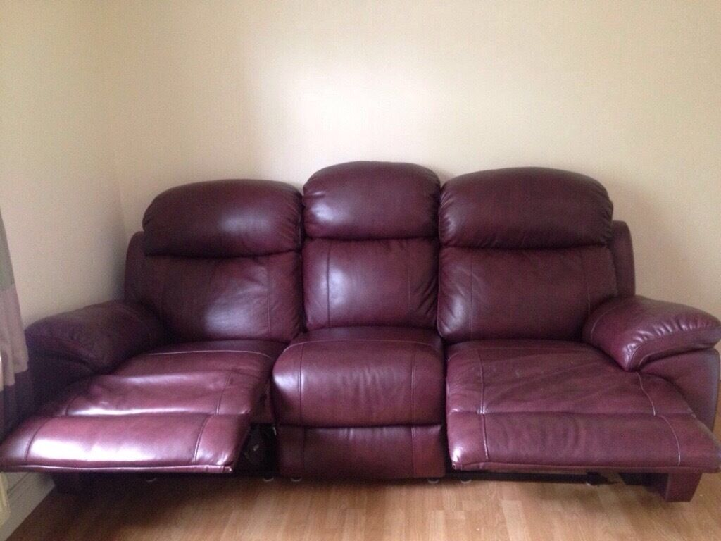 Sofology Maxwell Leather Reclining Sofa In Warrington Cheshire - Maxwell sofa
