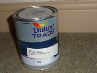 Dulux Satinwood Tawny Crest 1 litre medium Unopened