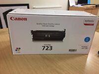 **Brand new, in original box** Canon colour laser cartridge 723- Cyan