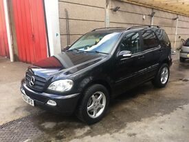 MERCEDES ML270 CDI AUTO 2005, GREAT CAR, PART EXCHANGE TO CLEAR