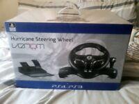 hurricane steering wheel ps3/ps4