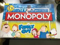 Monopoly family guy