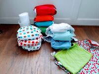 10 preloved cloth nappies for sale