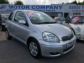 2005 TOYOTA YARIS COLOUR COLLECTION SILVER CHEAP ONE 1 LITRE CAR LOW INSURANCE **NEW CLUTCH FITTED**