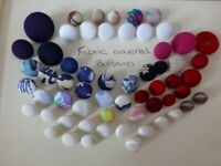 Assorted buttons - various types - for crafting or clothing