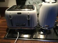 Breville White Toaster + Kettle