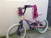 Girls bike age 4/5 ( 165cm seat height)