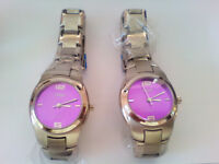 Stainless Steel Watches X 2 - New